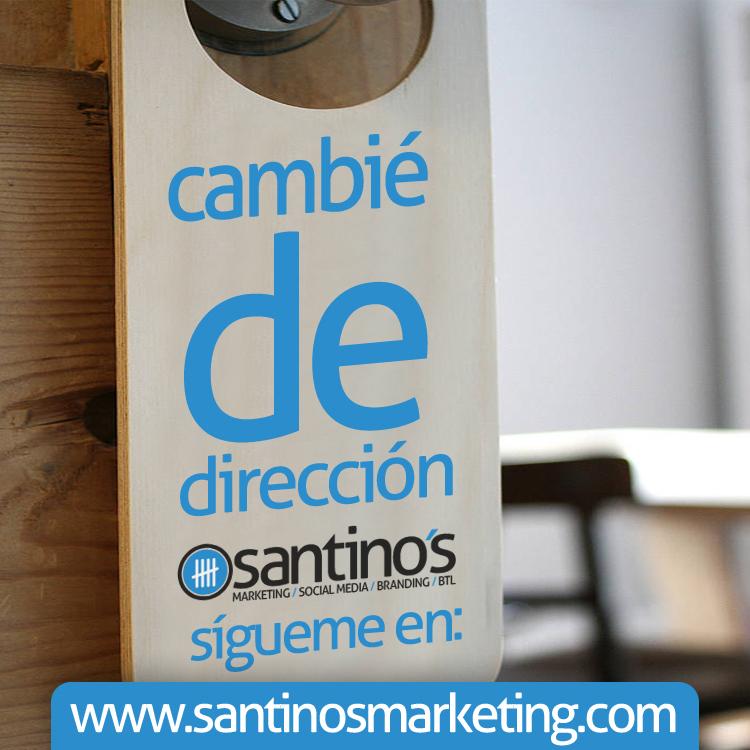 Santinosblog.com cambia a santinosmarketing.com